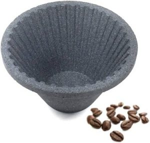 FUMAO Paperless Coffee Filter Pour Over Reusable Cone Dripper