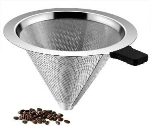 TEEMADE Store Pour-Over Coffee filter Paperless Pour Over Coffee Dripper