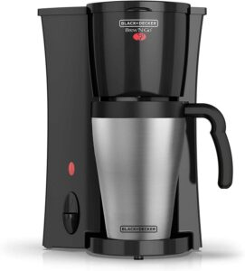 Black & Decker Single Serve Stainless Steel Coffee Maker