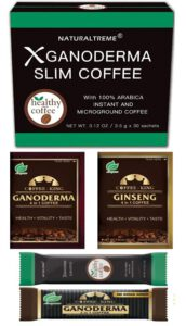 Naturaltreme PureGano Ganoderma Detox Coffee