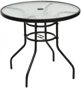 Tangkula 32 Inch Outdoor Patio Table