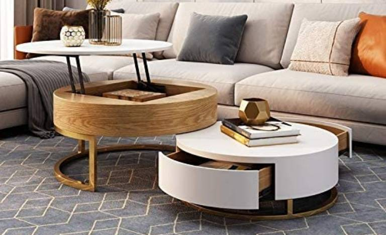 Best Round Coffee Table With Storage