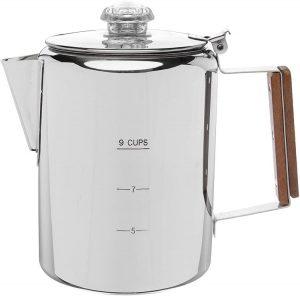 1. COLETTI Bozeman Stovetop Coffee Percolator