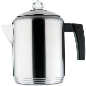6. Copco Brushed 4 to 8-Cup Stovetop Percolator