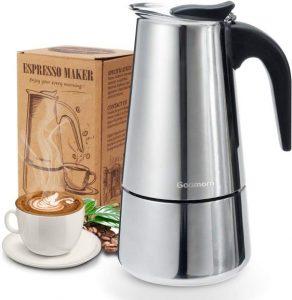 7. Stovetop Espresso Maker - Classic Cafe Maker