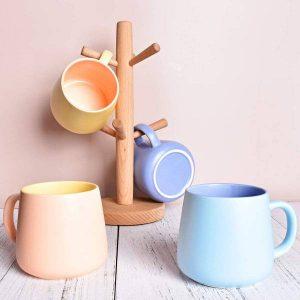 Bosmarlin Matte Ceramic Coffee Cute Mug