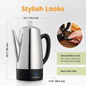 Gastrorag Electric Coffee Percolator