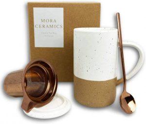 Mora Ceramics Tea Cup - Dishwasher Safe Coffee Mug