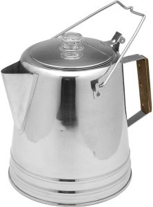 Texsport Stainless Steel Coffee Pot Percolator
