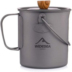 Widesea Titanium Camping Coffee Pot