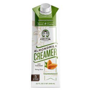 Califia Farms - Unsweetened Almond Milk Coffee Creamer with Coconut Cream
