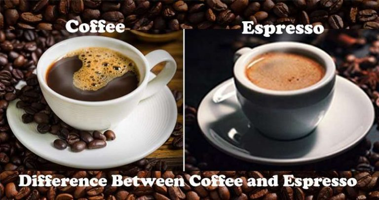 Difference Between Coffee And Espresso