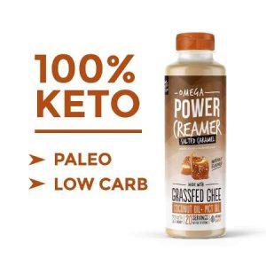 Omega PowerCreamer - Salted Caramel Keto Coffee Creamer
