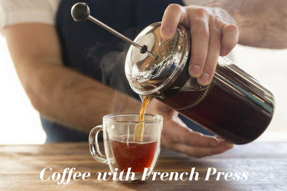 make coffee with French Press