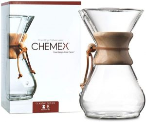1 Chemex Pour-Over Glass Coffeemaker