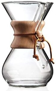 3. Chemex Pour-Over Glass Coffeemaker