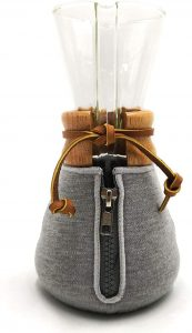 5. HEXNUB – Cozy Cover, Compatible with Chemex Coffee Makers