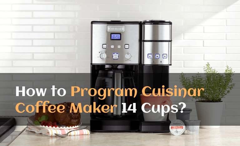 program Cuisinart Coffee Maker 14 Cups