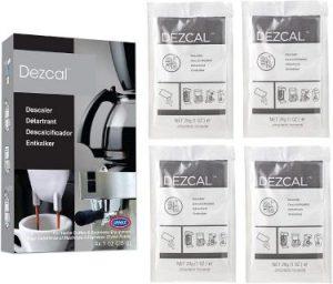 3. Urnex Dezcal Coffee and Espresso Descaler- Best 4 Pack Descaler