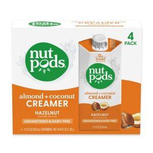 7. Nutpods Hazelnut Dairy-Free Creamer