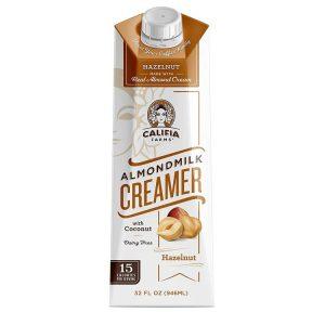 Califia Farms Hazelnut Almond Milk Coffee Crea