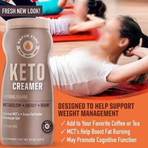RapidFire Ketogenic Creamer Best Keto Coffee Creamer