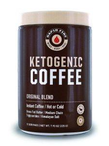 RapidFire Ketogenic Fair Trade Instant Keto Coffee Mix